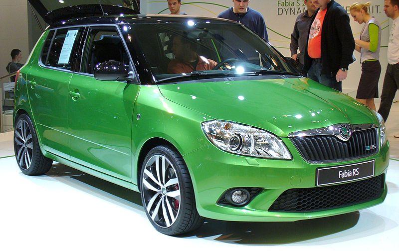 Škoda Fabia II RS Facelift