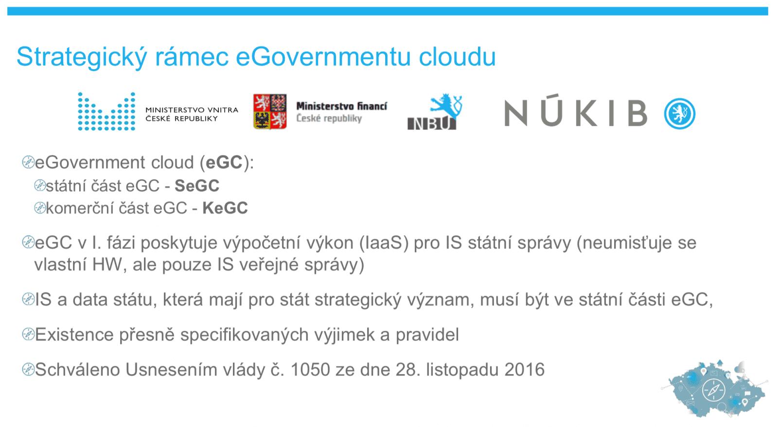Český e-government cloud