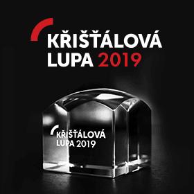 Logo Křišťálová Lupa 2019