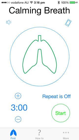 App: Calming Breath
