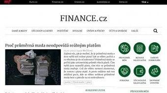DigiZone.cz: Server Finance.cz prošel redesignem