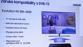 Lupa.cz: DVB-T2 na starších TV? Samsung ukázal řešení