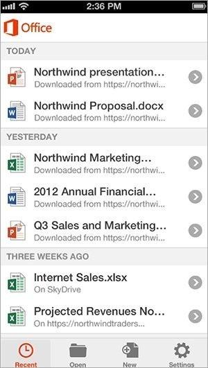 Office pro iPhone