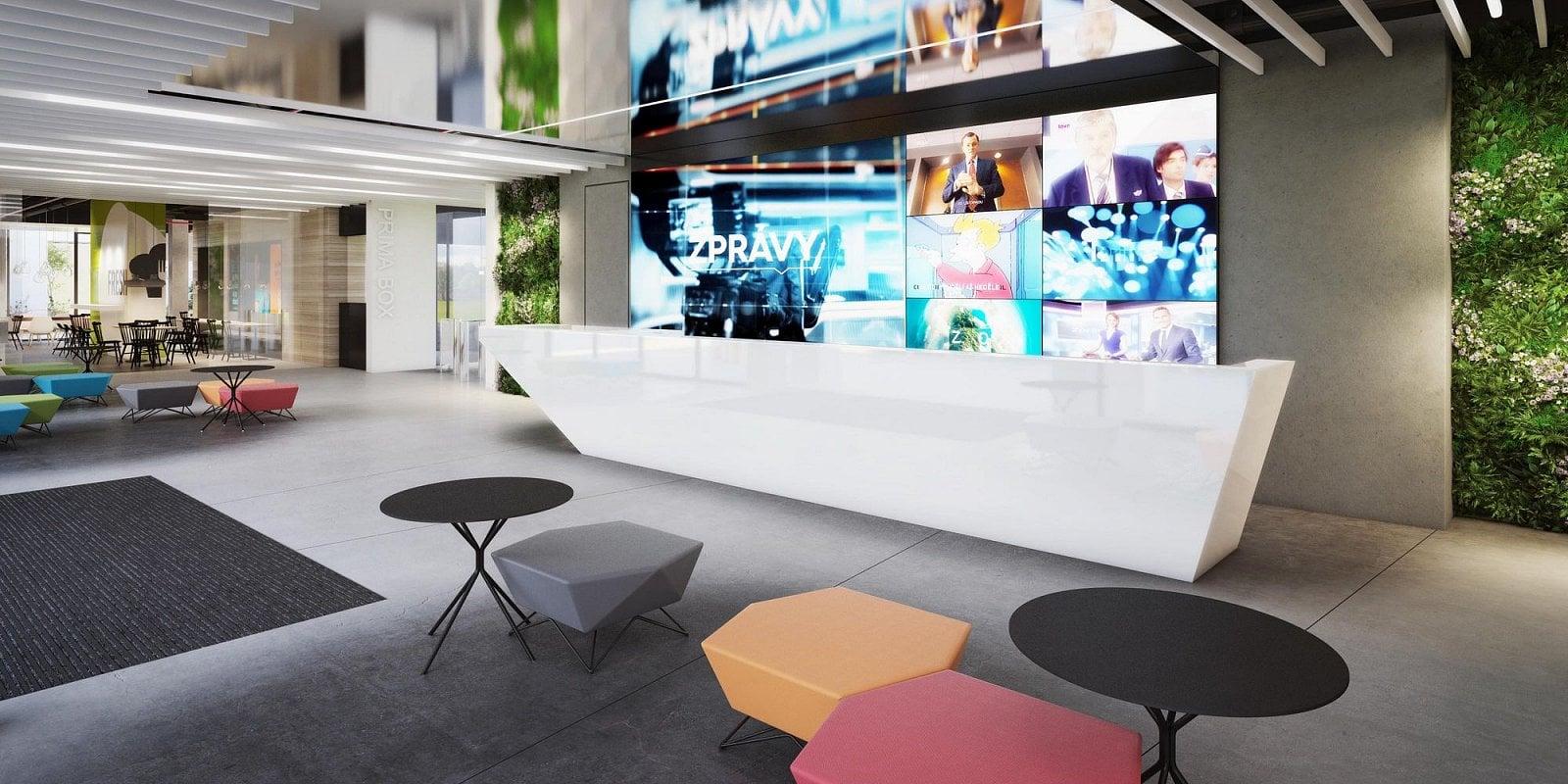 Nové sídlo TV Prima