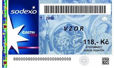 Papírová stravenka Gastro Pass platná do 31. prosince 2018.