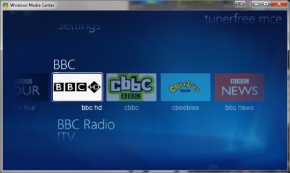 TunerFree MCE rozšíří Windows Media Center