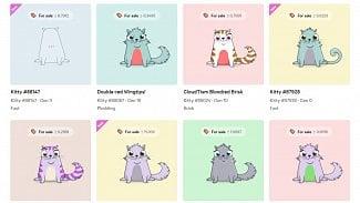 Lupa.cz: Ethereum blockchain zaplavily kreslené kočky