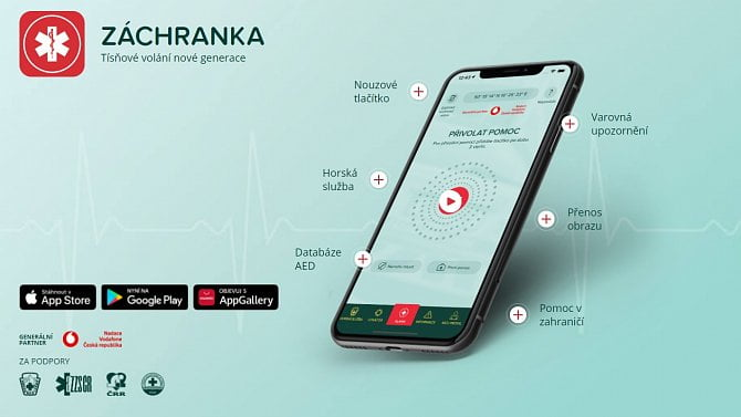 Záchranka se může rozšířit do všech zemí, kde působí Vodafone, dostala na to 3 miliony eur