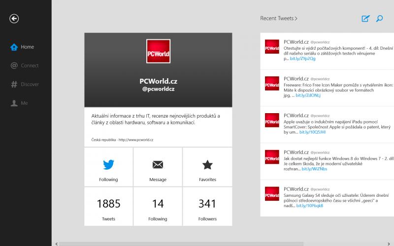 Oficiální Twitter pro Windows 8 konečně ke stažení