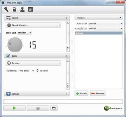Pomocí TimeComX můžete naplánovat vypnutí počítače