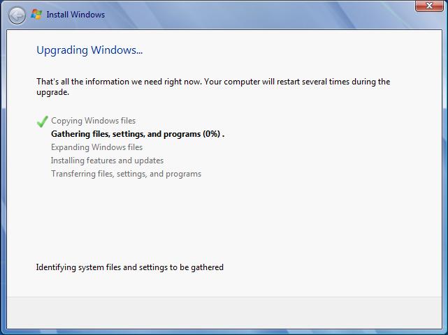přeinstalace Windows 7