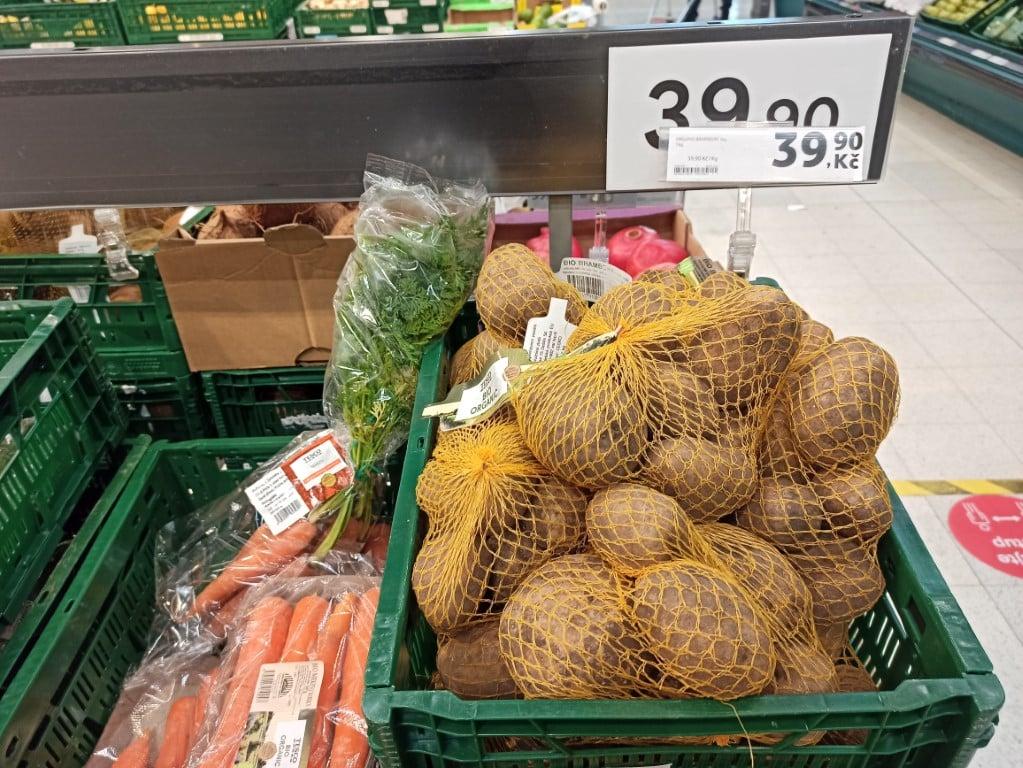 Bio ovoce a zelenina - Albert
