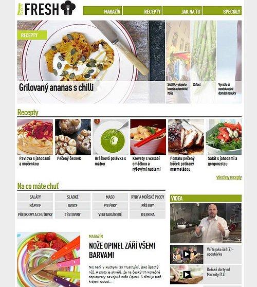 Náhled webových stránek Prima Fresh