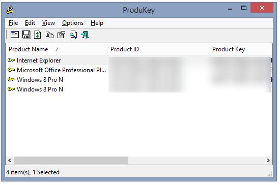 ProduKey
