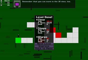 Obrázky ze hry Ortho Robot
