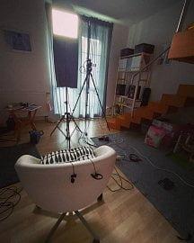 Domácí studio Tomáše Drahoňovského