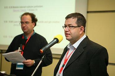 Konferenci zahájili programový ředitel TUESDAY Business Network Petr Koubský a šéfredaktor Lupy Patrick Zandl.