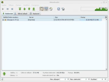 <p>JDownloader - grafické rozhraní je velmi dobře navrženo</p>