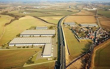Logistické centrum Huajie u Pavlova