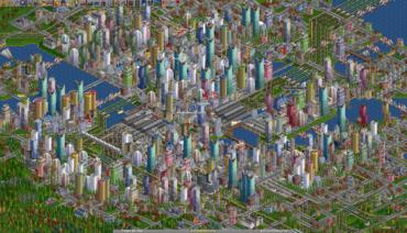 OpenTTD - jedna z oblíbených svobodných her