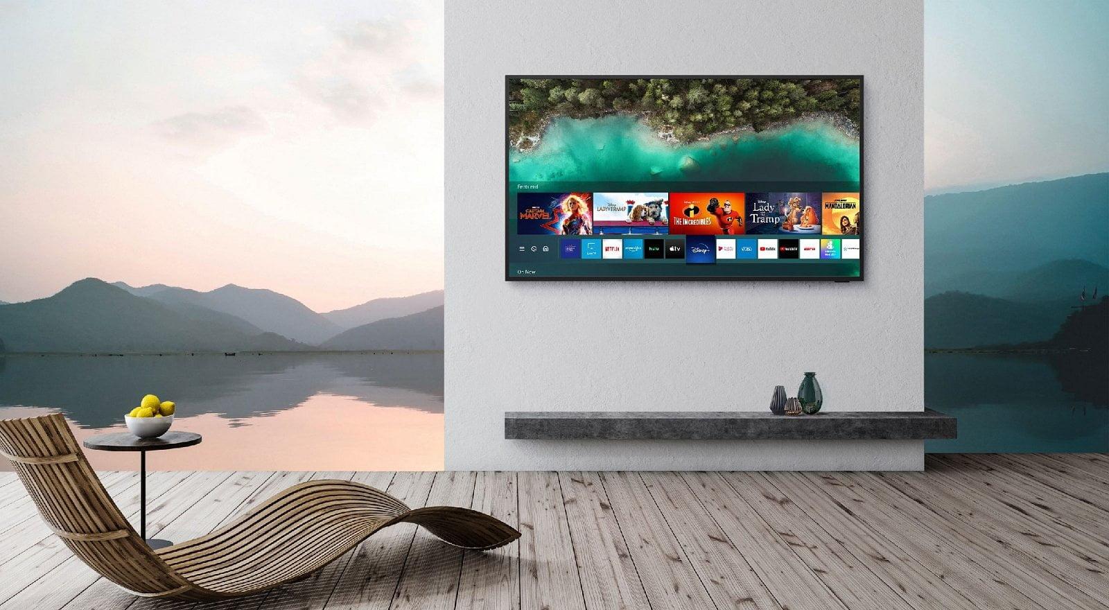 Samsung Terrace TV a soundbar