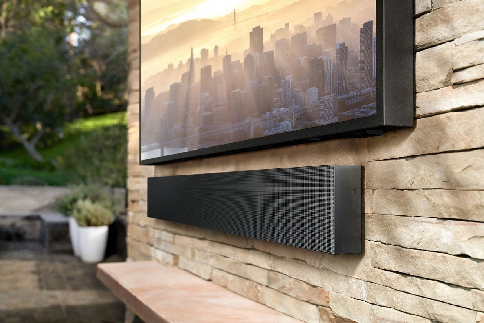 Samsung Terrace TV a soundbar