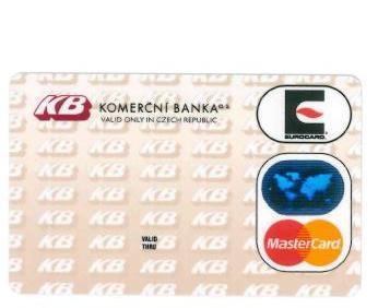 Komerční banka platební karta