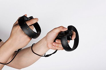 Prototyp ovladače Oculus Touch