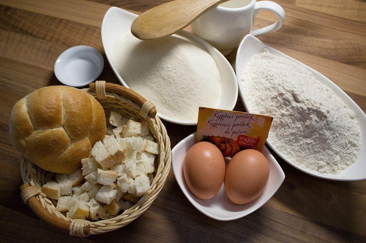 Recept na špaldové knedlíky a polévku