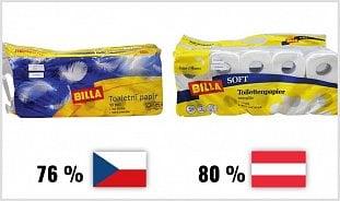 Vitalia.cz: Test toaletních papírů: nekupujte voňavý