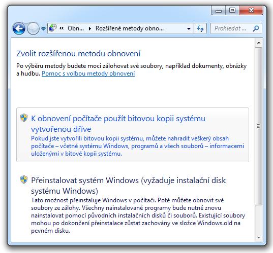 bitová kopie systému