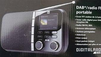 DigiZone.cz: Fotogalerie FM/DAB přijímače Dual DAB 4C