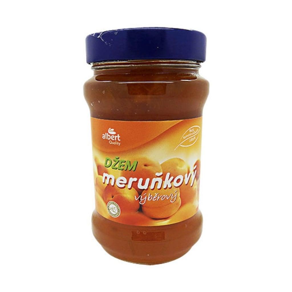 Test meruňkových zavařenin