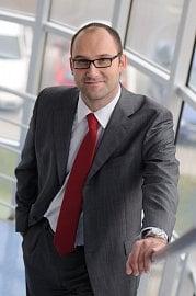 Lukáš Cankař, ředitel marketingu a retailového prodeje ve Volkswagen Financial Services (08/2016).