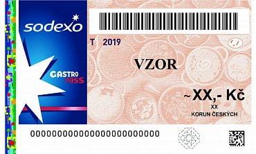 Papírová stravenka Gastro Pass platná do 31. prosince 2019.