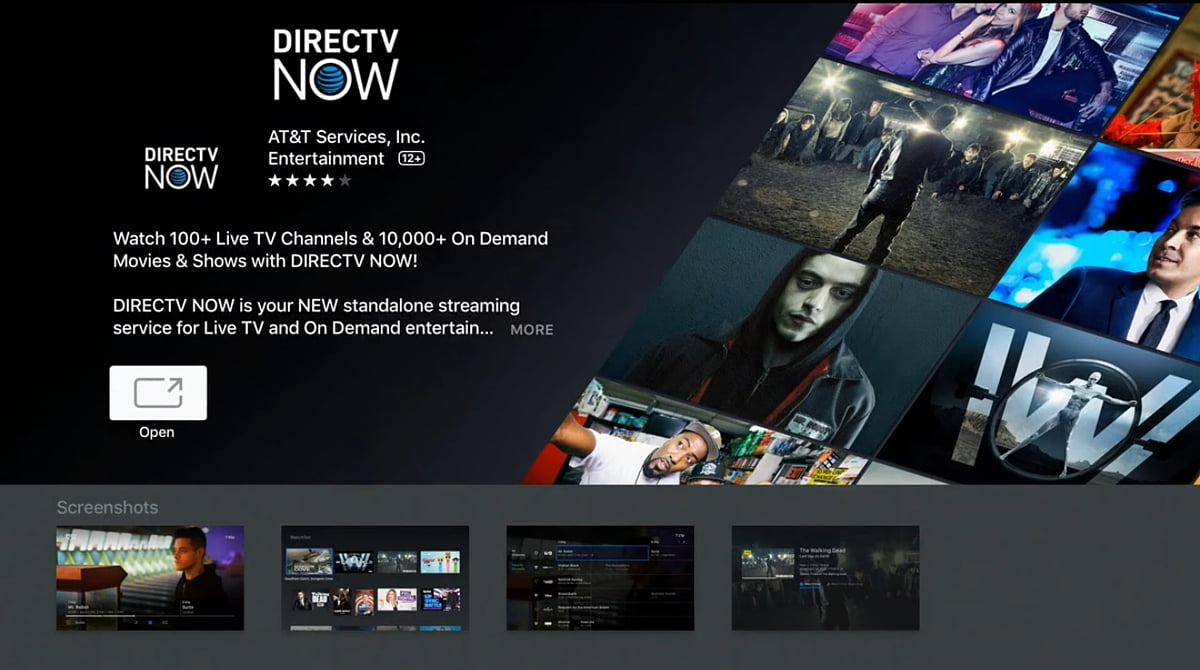 DirecTV - Volby Home a Shows