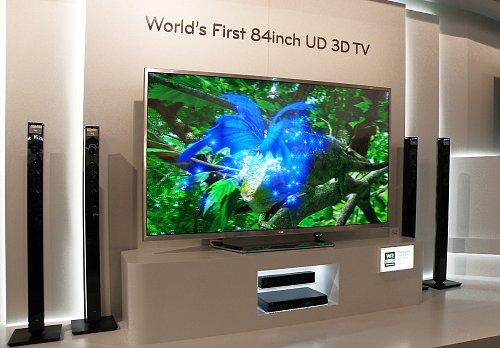 Na veletrhu IFA si odbyl svou světovou premiéru Ultra HD 3D televizor LG o velikosti úhlopříčky 84 palců.