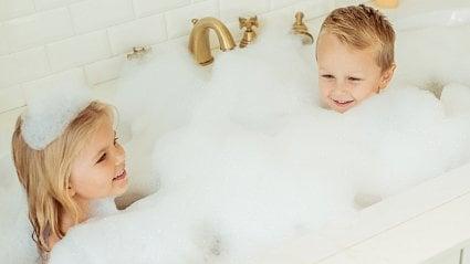 Vitalia.cz: Test: dětské přísady do koupele - na pováženou