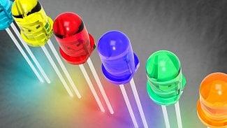 Modrá Twibright Ronja: jaké přetaktování vydrží LED?