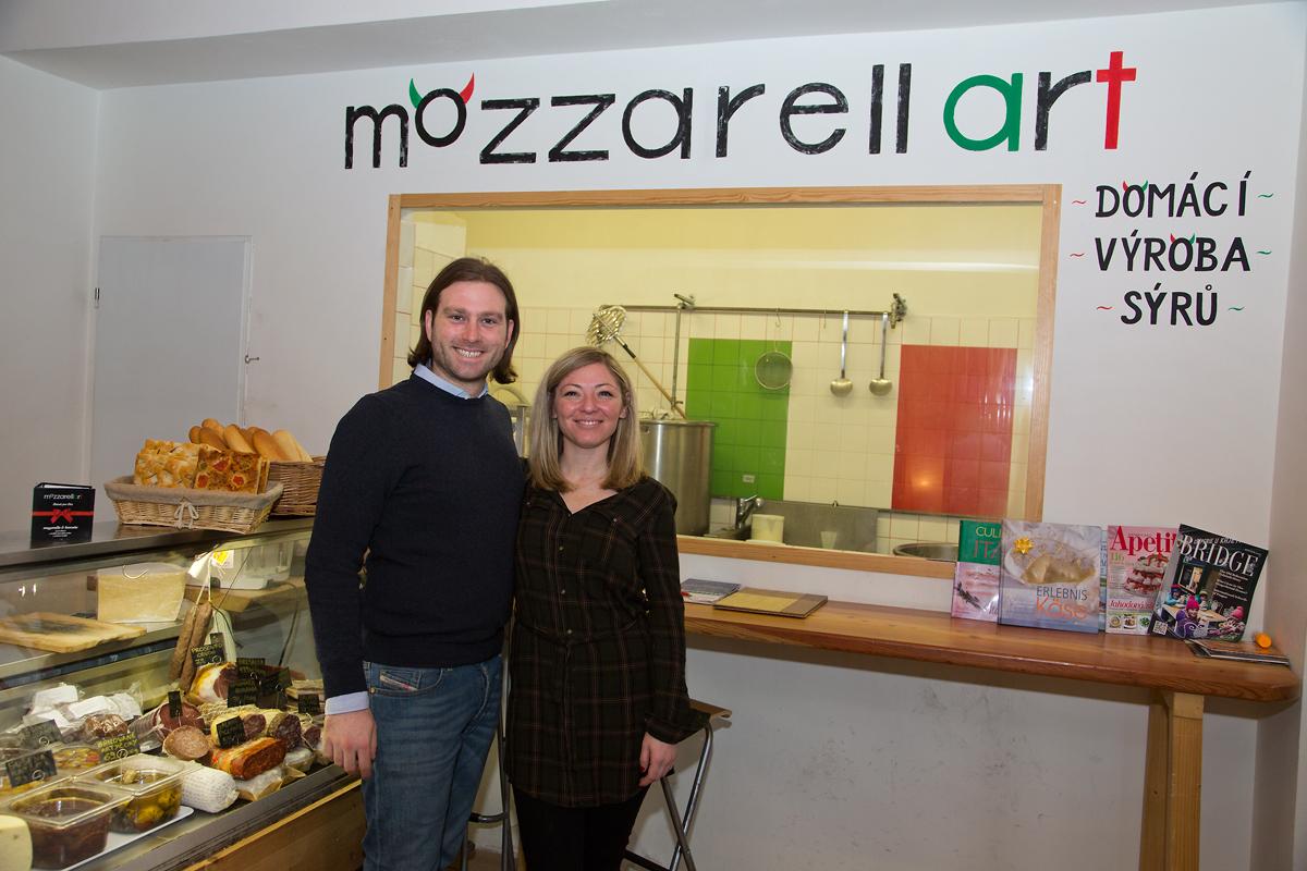 Mozzarellart: Tady vzniká mozzarella