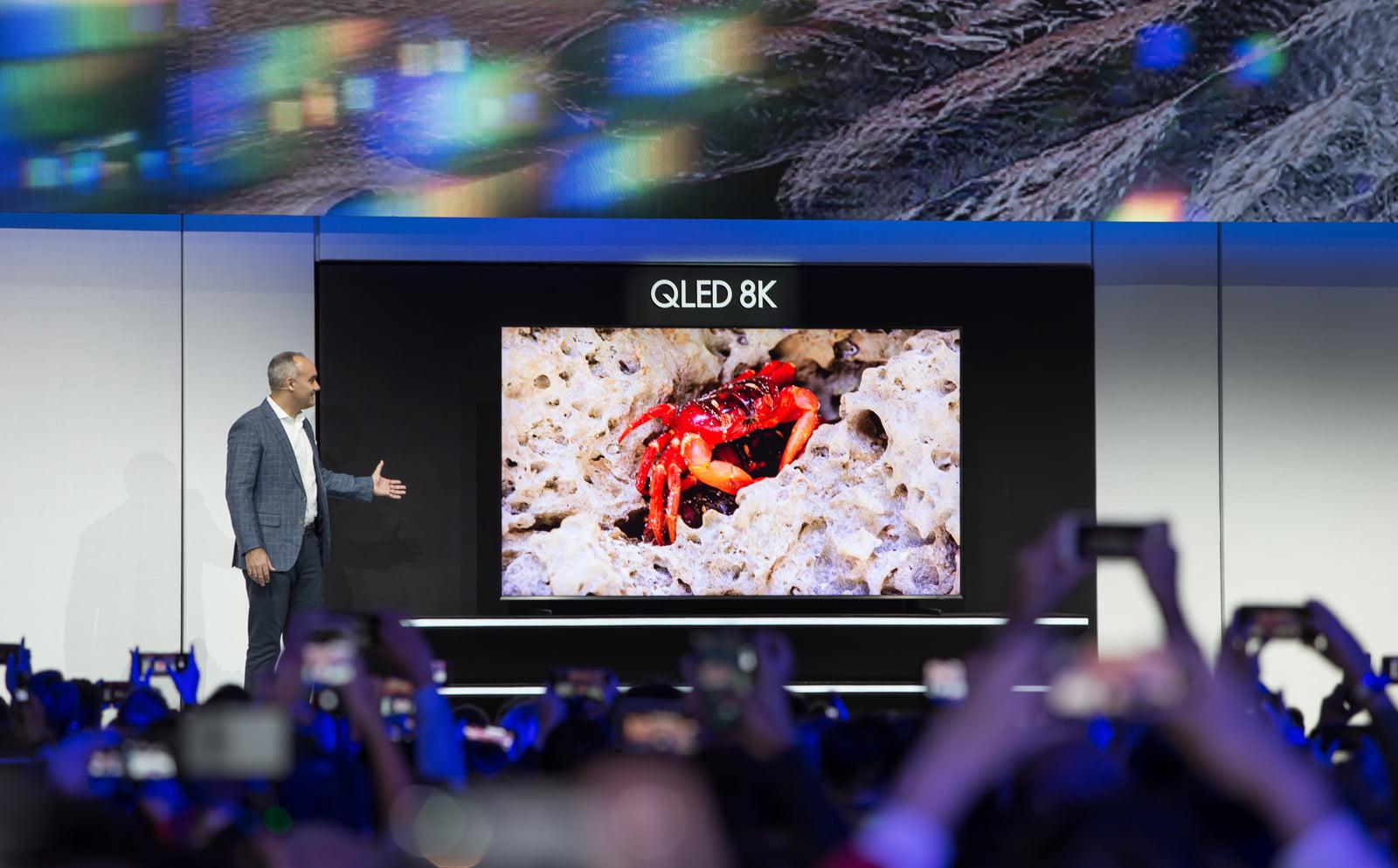 Novinkové televizory od Samsungu a LG na CES 2019