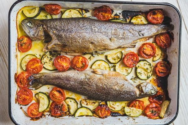 Příprava ryb není složitá, je ale třeba dát pozor na vhodnou teplotu.