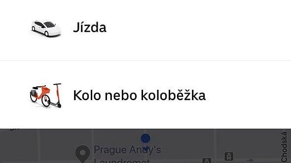 [aktualita] E-koloběžky Lime si nyní lze v Praze objednat také přes aplikaci Uberu