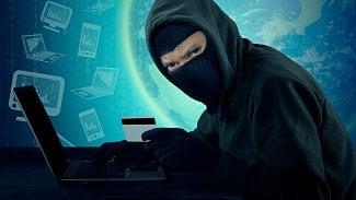 Hacker karty zloděj