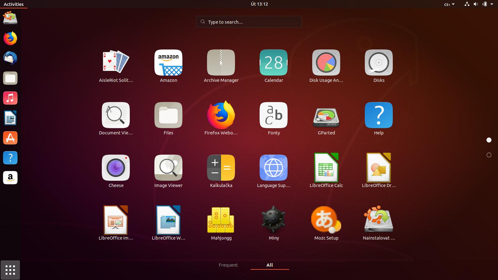 Ubuntu 18.10 (vývojová verze)