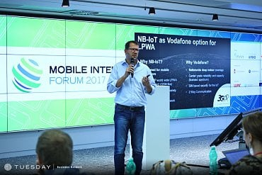 Milan Zíka, Vodafone