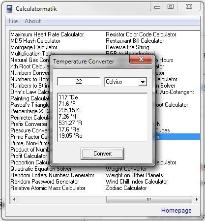 Calculatormatik usnadní převod jednotek