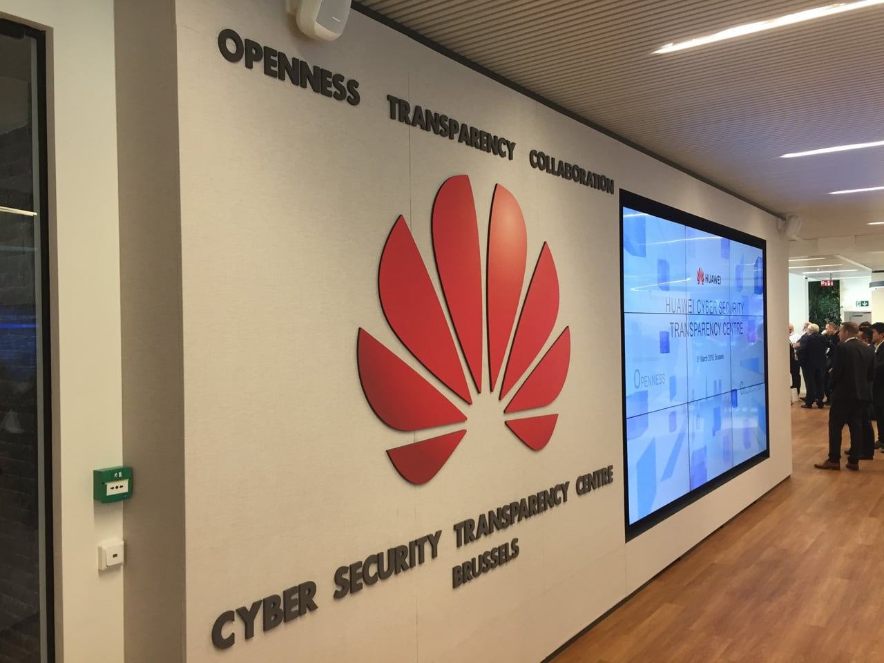 Huawei Cyber Security Transparency Centre v Bruselu