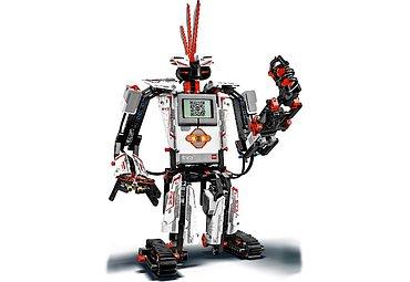 Že je Lego pro děti? Ale kdeže! Tohle je plné motorků, elektroniky, hejblátek a čidel. Řízené je to počítačem s Linuxem a možnosti jsou prakticky neomezené.