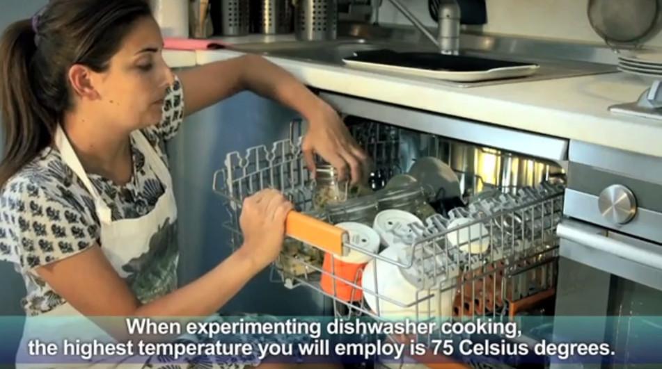Vaření v myčce